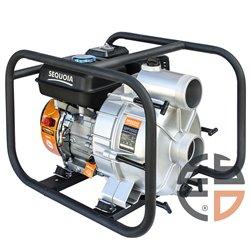 Мотопомпа бензиновая для чистой и грязной воды SEQUOIA SPP1100D