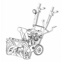 Снегоуборщик бензиновый SEQUOIA SST6556