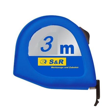 Рулетка S&R 3м серии Q