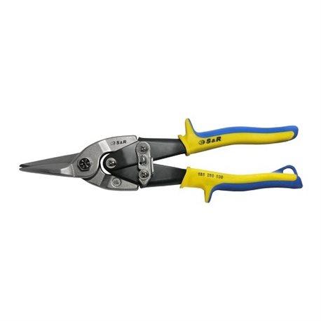 Ножницы по металлу S&R Aviation 250мм прямой рез
