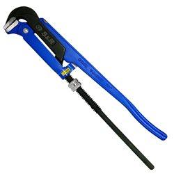 Ключ трубный разводной S&R 1' /90°