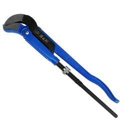 Ключ трубный разводной S&R S 1' /45°