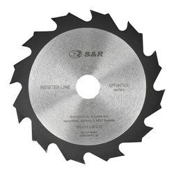 Диск пильный S&R Meister Sprinter 190x30x2,4 мм, 12 зуб.