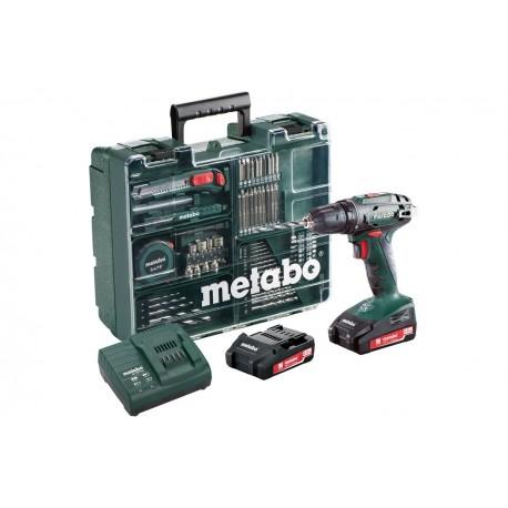 Шуруповерт аккумуляторный Metabo BS 18 Mobile Workshop