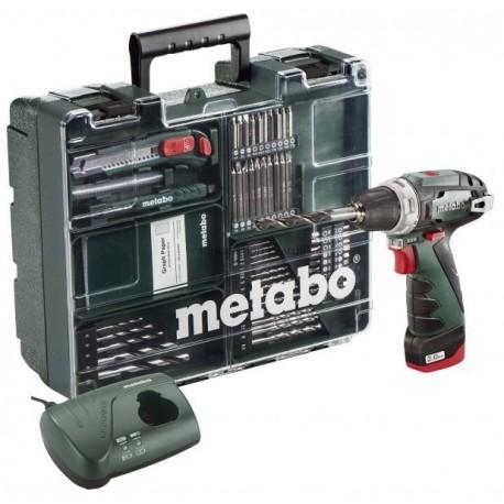 Шуруповерт аккумуляторный Metabo PowerMaxx BS Mobile Workshop
