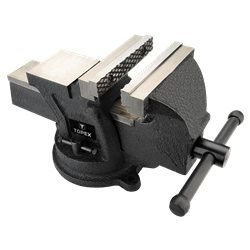 Тиски TOPEX поворотные, 100 мм