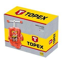 Тиски для труб TOPEX, диаметр от 10 до 60 мм