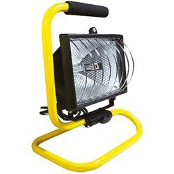 Прожектор TOPEX галогенный переносной, 400Вт, 230 В, 50 Гц, IP54, шнур питания 1.7 м, CE