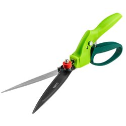 Ножницы VERTO для травы 340 mm, лезвие 130 mm, многопозиционные