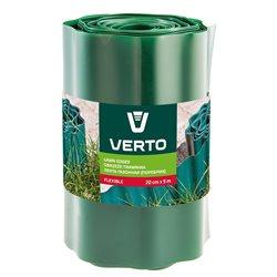 Лента VERTO газонная 20 cm x 9 m, зеленая