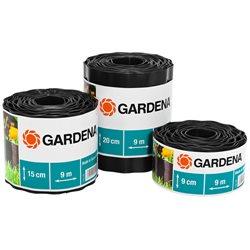 Бордюр садовый Gardena 9 м х 20 см коричневый