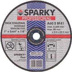 Круг отрезной SPARKY по нерж. стали d 115 мм\A 60 S\115x1.2x22.2