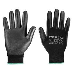 """Перчатки садовые Verto, ПУ покрытие, размер 8 """""""
