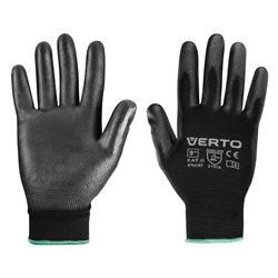 """Перчатки садовые Verto, ПУ покрытие, размер 9 """""""