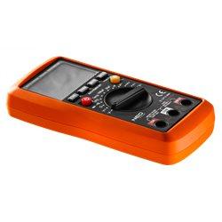 Мультиметр NEO цифровой, ЖК-дисплей с подсветкой, 3,5 цифры, чехол