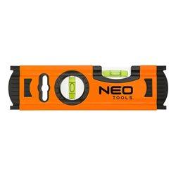 Уровень NEO алюминиевый 20 см, 2 глазка