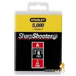 Скобы Stanley  6мм (1000шт.) (блистер)