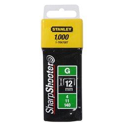 Скобы Stanley тип G  8мм (Степлер Stanley 6-TR250, 6-TR151Y) 1000шт