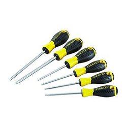 Набор отверток Stanley Essential, 6ед: Т10, T15, T20, Т25, Т30, Т40